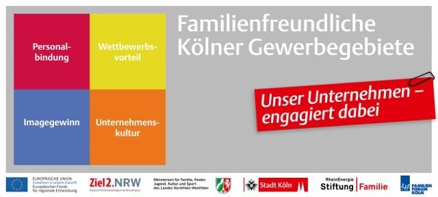 Familienfreundliches Unternehmen klein